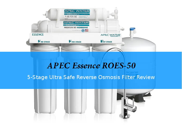 Apec Essence Roes 50 5 Stage Ro System Review Waterfiltershq