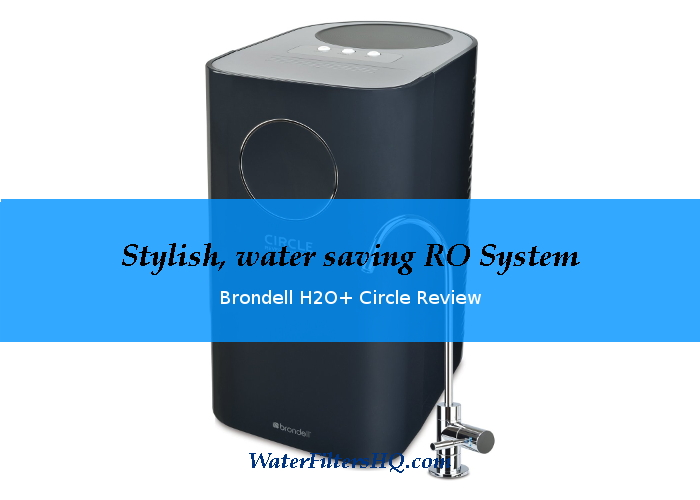 Brondell H2O+ Circle under sink reverse osmosis system