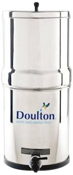 Doulton W9361122 Stainless Steel Gravity Filter System review