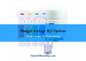 Watts Premier RO Plus Reverse Osmosis system reviw