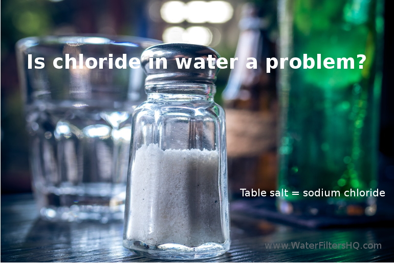 chloride in water can cause health problems