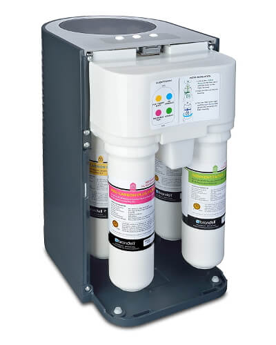 Compact Brondell H2O+ Circle Reverse Osmosis Water Filter System