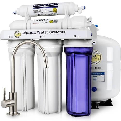iSpringRCC7 reverse osmosis water filter system
