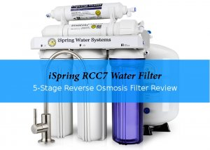 iSpring RCC7 5-stage RO water filter review