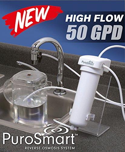purosmart highflow 50gpd reverse osmosis filter