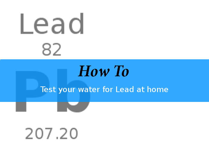how to test for lead at home