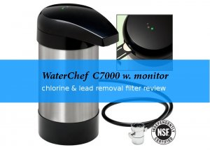 waterchef C7000 countertop water filter review